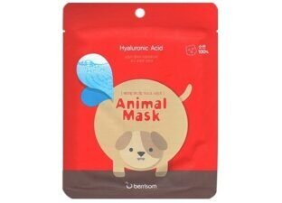 Тканевая маска с гиалуроновой кислотой Berrisom Animal Mask Series - Dog (Hyaluronic Acid), 1 шт